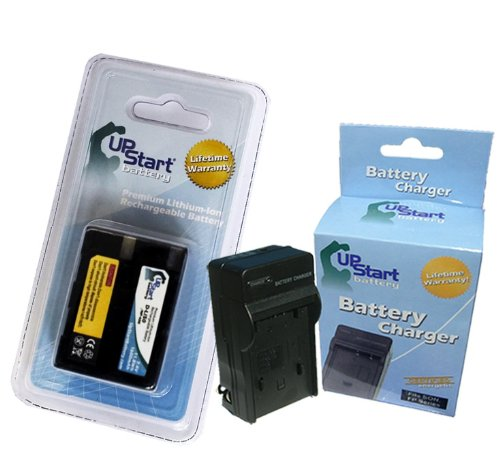 Replacement for Konica Minolta DiMAGE A2 Battery and Charger - Compatible with Konica Minolta NP-400 Digital Camera Batteries and Chargers (1600mAh 7.4V Lithium-Ion) 400 Digital Camera Battery