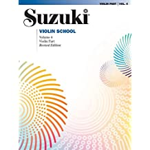 Suzuki Violin School, Vol 4: Violin Part