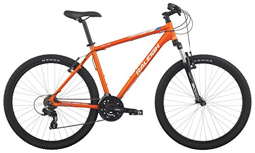 "Raleigh Bikes Talus 2 Hardtail Mountain Bike, Orange, 17""/ Medium"