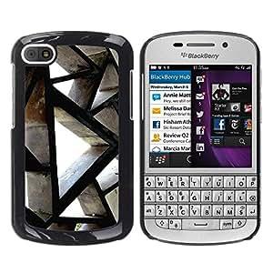 """Pulsar Snap-on Series Teléfono Carcasa Funda Case Caso para BlackBerry Q10 , Ingeniería de Edificación Arquitectura Polígono"""""""