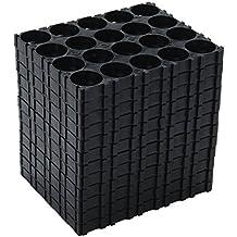 Ly Rosebush 12 Pcs 4x5 Cell Spacer 18650 Lithium Battery Plastic Holder Bracket 18.4mm