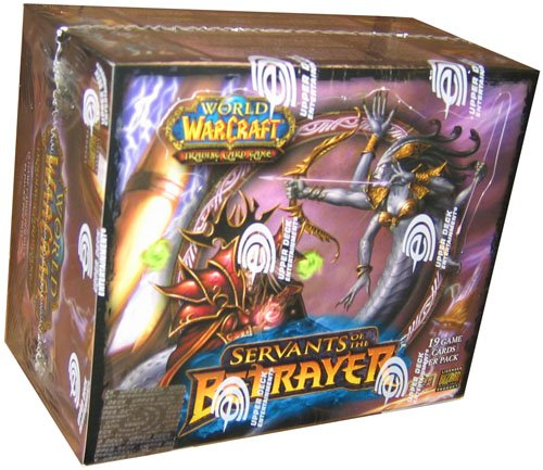 World of Warcraft (WoW) TCG: Servants of the Betrayer Booster Box (24 - Wow Tcg Booster