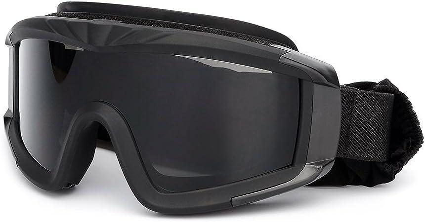 Imagen deKKmoon Gafas de protección a prueba de viento para Militar Airsoft Táctico Gafas de Moto Gafas Crossed Gafas Ciclismo