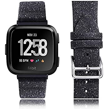 Amazon.com: Moonooda Compatible para Fitbit Versa Band Bling ...