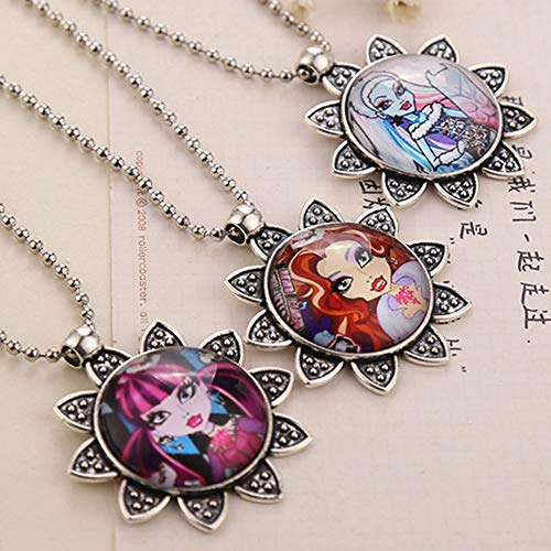 HYMAYX Fashion The School Necklace Pendant Jewelry Gift