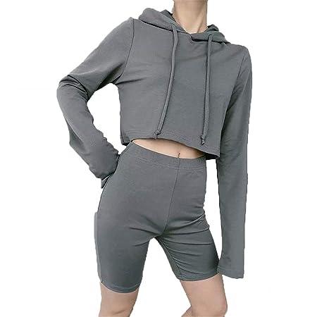 Ropa deportiva para mujer, Señoras de color sólido yoga ...