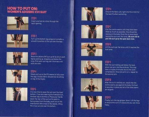 e2fb6b896d adidas Adizero XVI Freestyle Open Back Tech Suit Race Swimsuit FINA ...