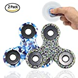Hand Spinner Fidget spinner Multi Style Fidget Toy Focus Durable High Speed Work Fun Ultra Durable Finger Toy EDC Focus Anxiety Stress Relief Toy 2Pack