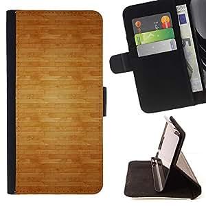 For Samsung Galaxy S6 EDGE (NOT S6) Plus / S6 Edge+ G928 Case , Modelo de la textura del suelo de Brown- la tarjeta de Crédito Slots PU Funda de cuero Monedero caso cubierta de piel