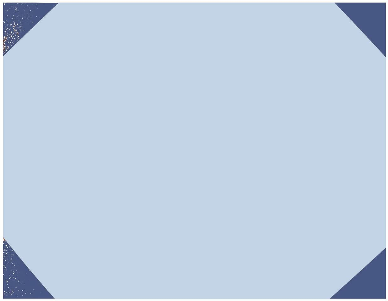 22 x 17-Inch Fits Any 22 x 17 Refillable Desk Pad 25 Sheets House of Doolittle EcoTones Blue Refill for HOD440 Recycled HOD445