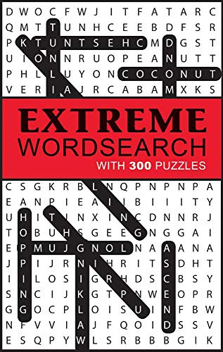 Extreme Word Search: With 300 Puzzles -