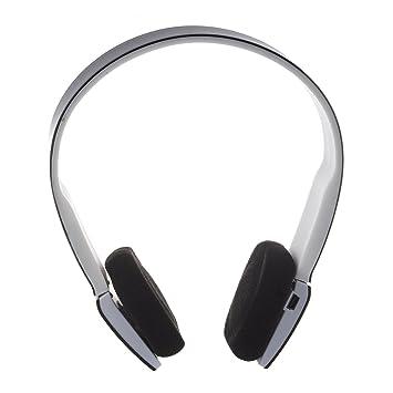 TOOGOO Auriculares V3.0 + EDR Bluetooth inalambrico 2.4G Auriculares de casco con miniphone para iPhone iPad Smartphone Tablet PC (Negro): Amazon.es: ...