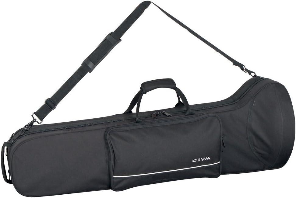 GEWA 708250 - Estuche con forma para trombón, ligero, color negro: Amazon.es: Instrumentos musicales