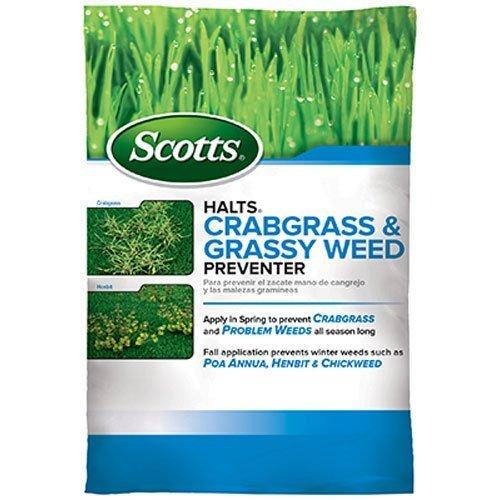 Scotts Halts Crabgrass & Grassy Weed Preventer (15,000sq-ft)