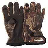 Mens Neoprene Premium Angling/Fishing Gloves (L/XL) (Camouflage)