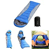 HITSAN 1.5kg Polyester Side Open Single Sleeping Bag Portable Ultra-light Outdoor Camping Bedding One Piece