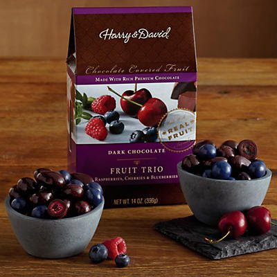 Dark Chocolate Berry Trio - Gift Baskets & Fruit Baskets - Harry and David (Fruit Baskets David And Harry)