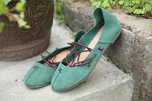 Suave suelo Guantes, Ballet Shoes handgefertigten lederschuhe 39