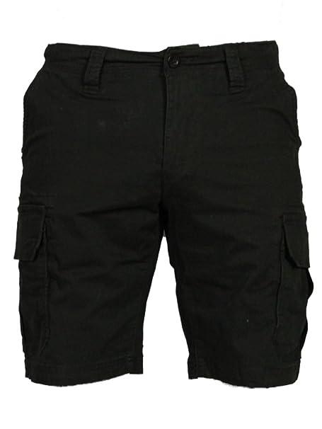 59f62ef344 DML Mens Cargo Combat Shorts Rogue in Navy Khaki Charcoal Black Colours:  Amazon.co.uk: Clothing