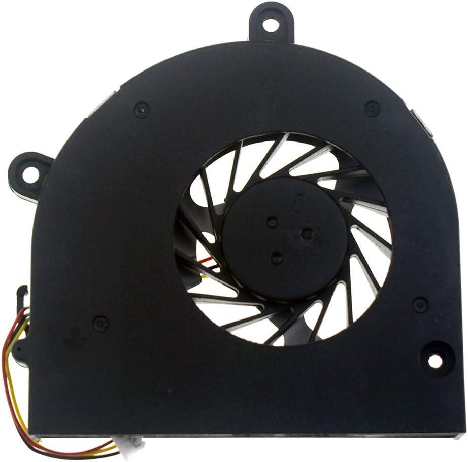 DREZUR CPU Cooling Fan Compatible for Toshiba Satellite A655 A655D A660 A660D A665 A665D C660 C650 L670 L670D L675 L675D P750 P750D P755 P755D Series Laptop Cooler