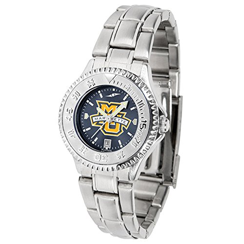 - New Linkswalker Marquette Golden Eagles Ladies' Competitor Steel Anochrome Watch