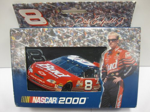 - Nascar 2000 - #8 Dale Earnhardt Jr. 2-decks Playing Cards in Collectible TIN!