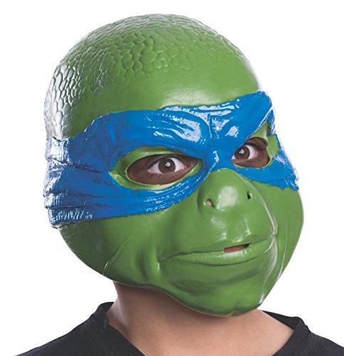 Ninja Turtles Latex Costume (Rubies Teenage Mutant Ninja Turtles Movie Leonardo Child 3/4 Child Mask)
