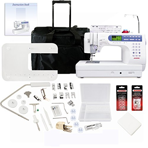 Janome Memory Craft 6500P Sewing Machine With Exclusive Bonus - Craft Memory Machines Sewing