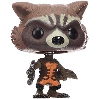 Funko Pop Marvel Guardians of The Galaxy - Rocket Raccoon Vinyl Bobble Head Figure