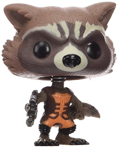 Funko Pop Marvel Guardians of The Galaxy - Rocket Raccoon Vinyl Bobble Head Figure