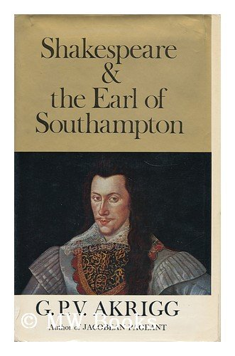Shakespeare and the Earl of Southampton,