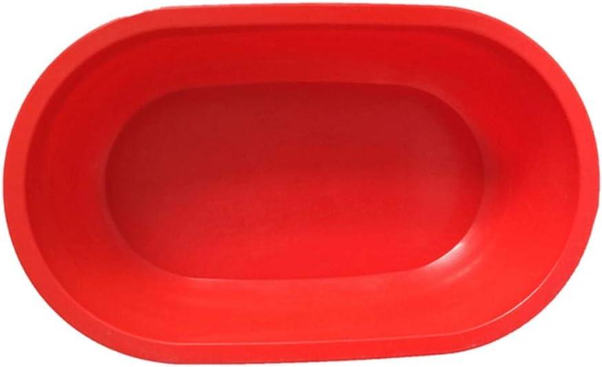 Zyj-Dog tub Ducha for Mascotas Bañera de Silicona portátil for Mascotas Accesorios de baño Bañera de hidromasaje Plegable Bañera de Seguridad Gato de Seguridad Bañera for Perros