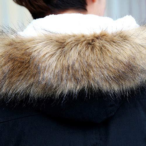 Chemisier Automne Hommes blanc T Manches Hiver Longues Haut large Imprimé Slim Noir Merical Casual shirt Pq5w7Sqd