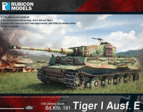 Rubicon Models 28mm Ausf Rubicon Models: Tiger I Ausf 28mm E by Rubicon Models c61c5d
