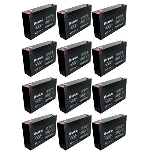 12Pc 6V 7Ah Sla Battery Rechargeable Sla Replace Ub670  D5734  Ps670 Fast Usa Ship By Weida