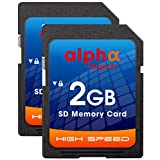 Nikon D50 D40 D40X D3300 Digital Camera Memory Card 2x 2GB Secure Digital (SD) Memory Card (1 Twin Pack)