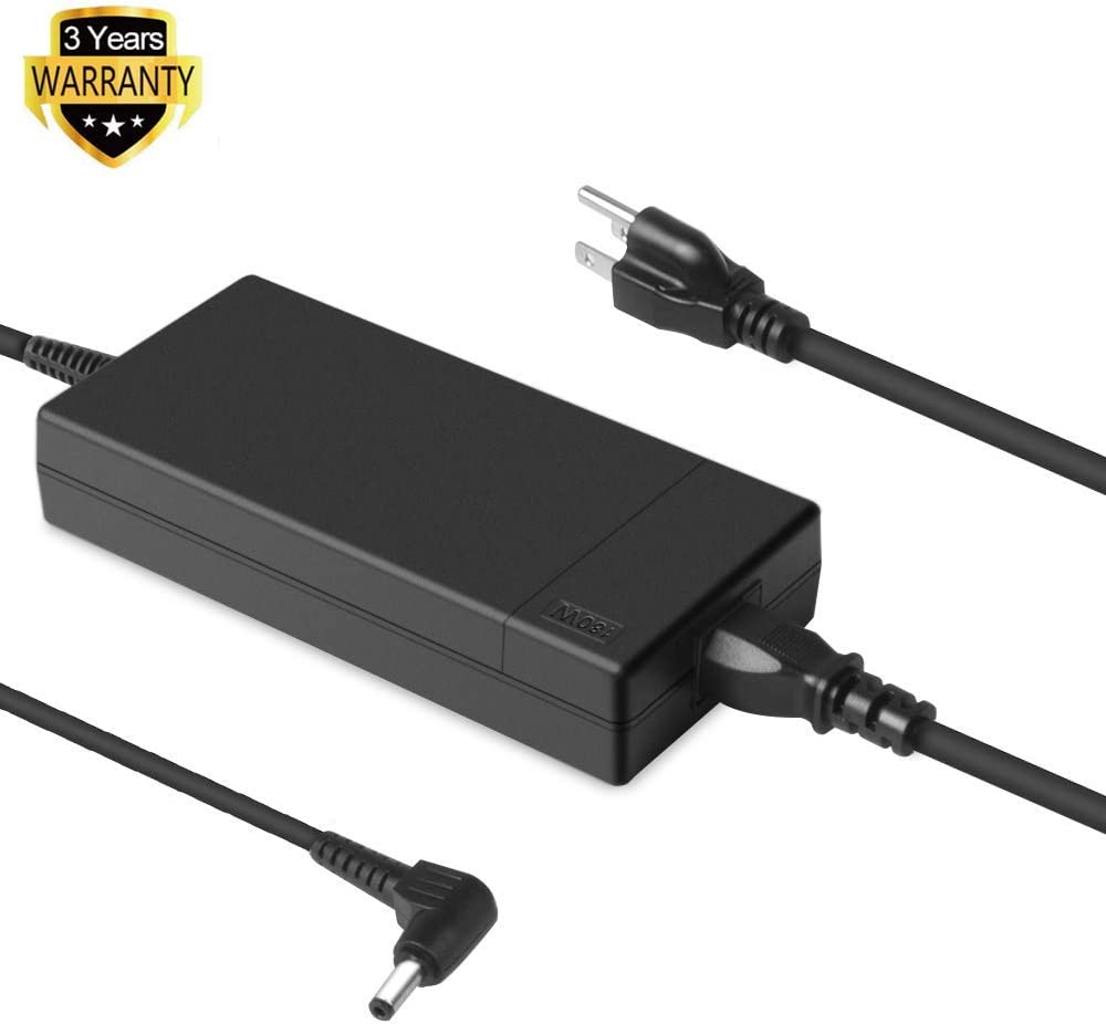 HKY 180W 150W 120W AC Adapter Charger for MSI-GS73VR GS63VR GS43VR GE62 GE72 GS60 GS70 GT60 GT70 GP62 GP62X GP62MVR GP62MVRX GP72 ADP-180HB Gaming Laptop Power Supply Cord