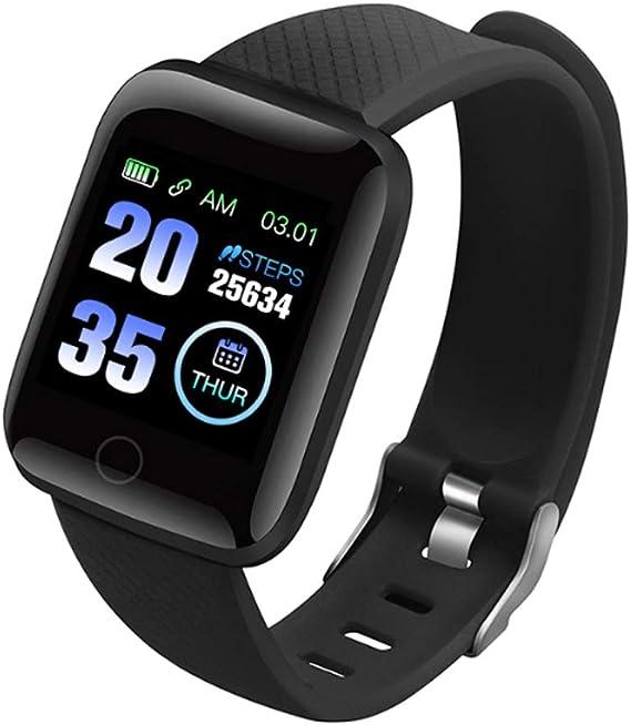 Explopur Smart Watch - IP67 a Prueba de Agua, Reloj Deportivo BT ...