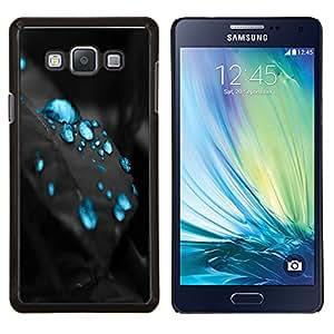 EJOOY---Cubierta de la caja de protección para la piel dura ** Samsung Galaxy A7 A7000 ** --Gotas azules