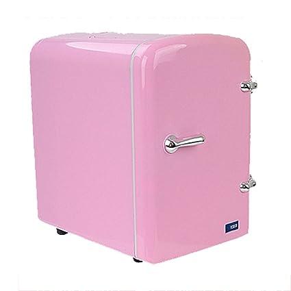 DTSQSS Coche Refrigerador / 4L Rosa portátil Mini Refrigerador ...