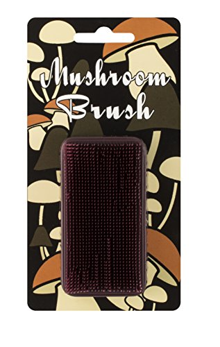 (Bay Mill Mushroom Brush and Vegetable Scrubber, Palm Sized)