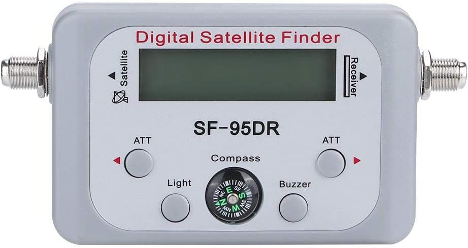 SF-95DR Buscador de medidor de señal satelital Digital Equipo ...