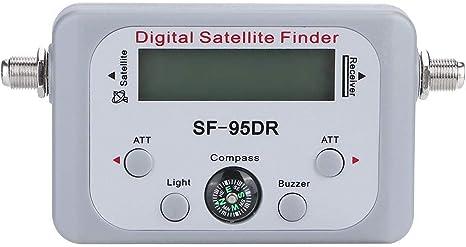 SF-95DR Buscador de medidor de señal satelital Digital ...