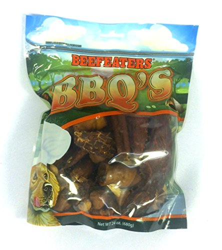Beefeaters Liver Treats (Beefeaters Crunchy Assorted BBQ Rawhid and Chicken Dumbell, Links, Chicken Wrapped Banana, Chicken Fillets, Chicken Wrapped Sweet Potato, Piggy Roll, Pet Dog Snack Treats, 24 Oz)