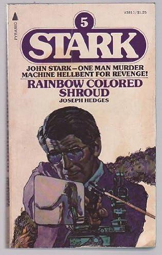 book cover of Rainbow Coloured Shroud
