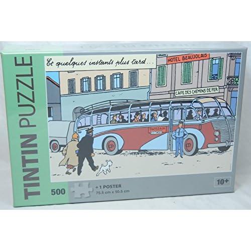 PUZZLE - BUS DE LA SWISSAIR - 500 PIECES