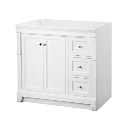 Foremost NAWA3621D Naples 36-Inch Width x 21-Inch Depth Vanity Cabinet White  sc 1 st  Amazon.com & Foremost NAWA3621D Naples 36-Inch Width x 21-Inch Depth Vanity ...