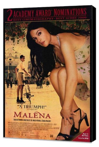 Pop Culture Malena  Movie Poster Style A Museum Wrapped Canvas