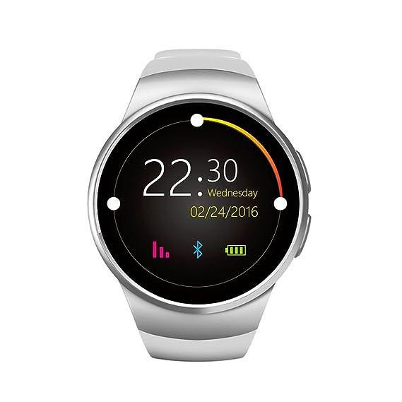Amazon com: FENGSHI Smart Watch Phone MTK2502C 1 3 Inch Round IPS