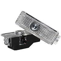 Auto deur licht 4 STKS Auto LED Deur Licht Auto Logo Embleem Projector Lamp Welcome Courtesy Luces Compatibel met B-M-W…